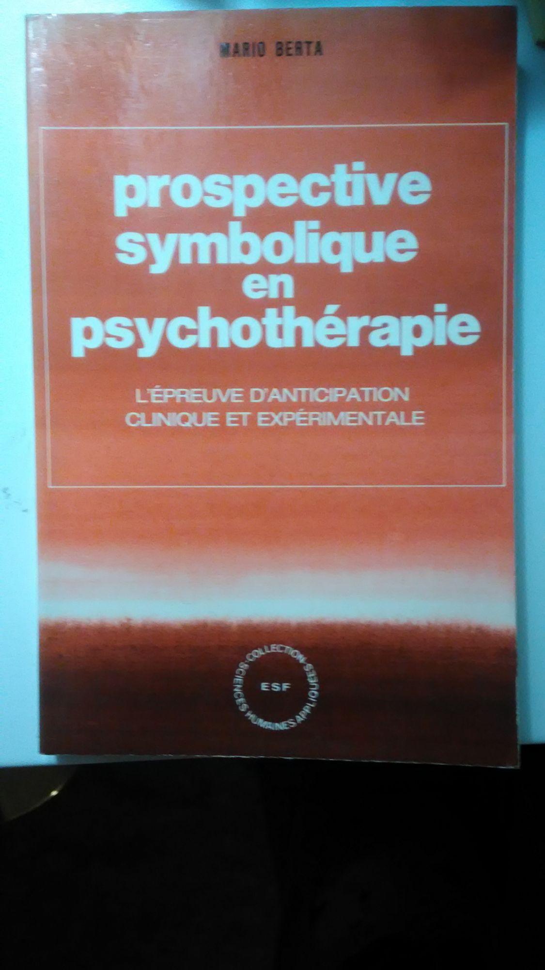 Prospective symbolique en psychothérapie