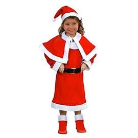 c9f5a1b223a0c Costume De Mere Noel Enfant - Deguisement Noël - 10 12 Ans - 096