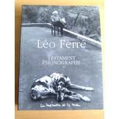 Léo Ferré - Testament phonographe