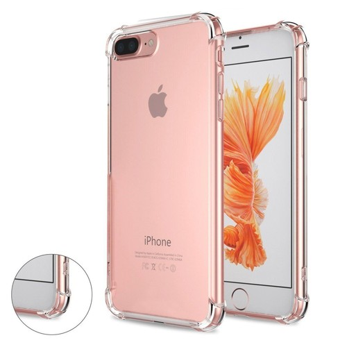Coque iPhone 7 plus / iphone 8 plus |GARANTIE A VIE|, WELKOO® Coque iPhone 7 plus, Housse iphone 8 plus en Silicone renforcé Shockproof anti choc ...