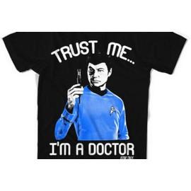 STAR TREK - T-Shirt Trust Me I'am the Doctor (S)