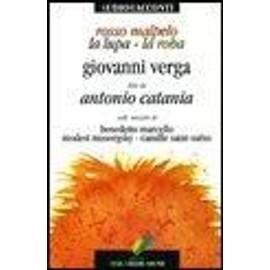 Rosso Malpelo-La lupa-La roba. Con audiolibro. CD Audio - Giovanni Verga