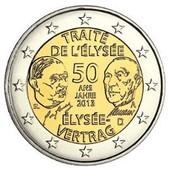 2 Euros Traite De L Elysee Pas Cher Ou D Occasion Sur Rakuten