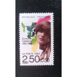 TIMBRE ALLEMAGNE FRANCE YT 2752 Germaine Tailleferre (1892-1983) 1992