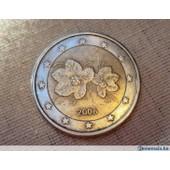 Piece 2 Euros Fleur Pas Cher Ou D Occasion Sur Rakuten