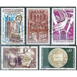 Stamp Timbre France Oblitere N° 1562 Enclave Papale De Valreas 1961 à 1970 Architecture