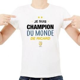 T-Shirt Champion du monde de Ricard