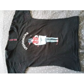 t-shirt INDOCHINE ALICE JUNE TOUR 2007 TAILLE 2
