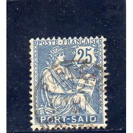 Timbre-poste de Port-Sa&i