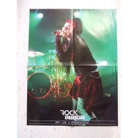 Poster Amy Lee Evanescence / Nirvana