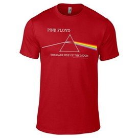 Pink Floyd - Dark side of the moon Album Red t-shirt