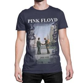 Pink Floyd - Burning man Navy T-Shirt