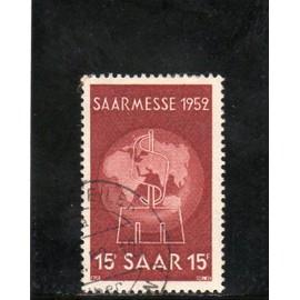 Timbre-poste de Sarre (Fo