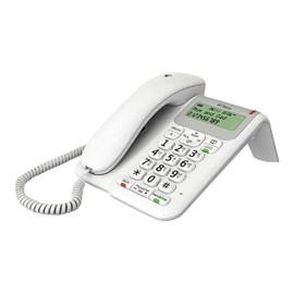 BT Decor 2200 Téléphone filaire avec ID dappelant/appel en instance blanc