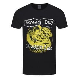 Green Day T-Shirt Free Hugs Homme Noir