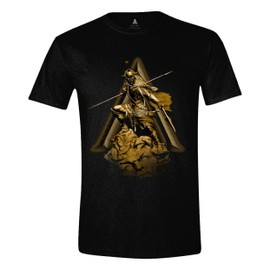 Assassin's Creed Odyssey T-Shirt Character Charge Black (M)