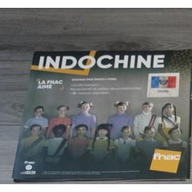 plv souple 30x30cm INDOCHINE un été français /// magasins FNAC