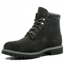 6 In Panel Homme Boots Noir Timberland