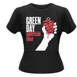 GREEN DAY AMERICAN IDIOT T-Shirt Femmes