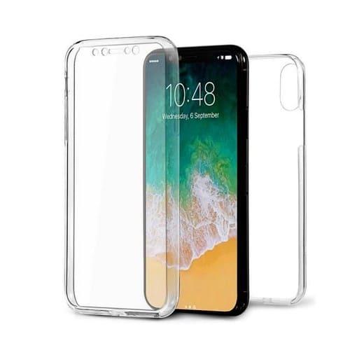 Coque Iphone Xs Max intégrale silicone transparente