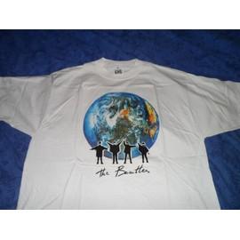 The Beatles T-Shirt Blanc T- apple