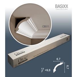1 carton complet 18 Corniches Moulures Cimaises 36m Orac Decor CB511 BASIXX