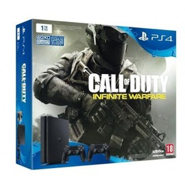 Image Ps4 Slim 1 To + Call Of Duty Infinite Warfare Edition Standard + 2ème Manette