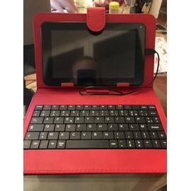 Tablette DSlide 711 Danew 8 Go eacute;cran 7 quot; Wi-Fi - Orange + Housse avec clavier int eacute;gr eacute;