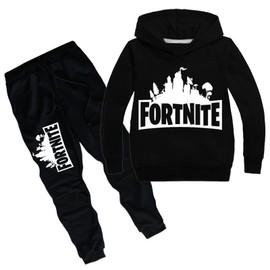 Fortnite Sweat costume de sweatshirt(sweatshirt+Pantalon) Pull pour enfants printemps et automne À capuche PM300096