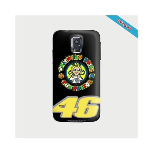 Coque iphone S5 Fan de Valentino Rossi VR46 | Rakuten