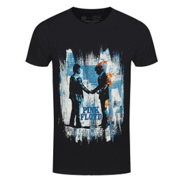 Pink Floyd T-Shirt Wish You Were Here Painting Homme Noir