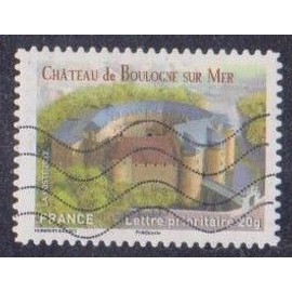 Timbre n° A.716 Y & T lettre prioritaire 20g. Châteaux et demeures historiques de nos régions du moyen-âge à l'époque moderne château de boulogne-sur-mer
