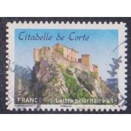 Timbre n° A.720 Y & T lettre prioritaire 20g. Châteaux et demeures historiques de nos régions du moyen-âge à l'époque moderne citadelle de corte