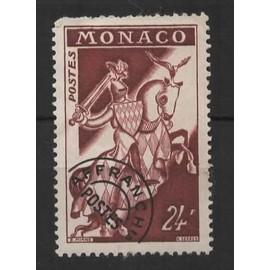 Monaco, timbre-poste pr&e