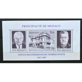 Monaco, Bloc-feuillet Y & T n° 39 50 ans de l