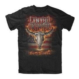 Lynyrd Skynyrd - Flaming Skull T-Shirt