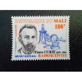 TIMBRE MALI YT 428 75ème anniversaire de la mort du physicien Pierre Curie 1981