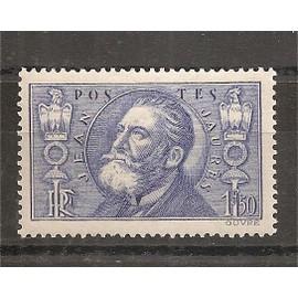 319 (1936) Jean Jaurès 1f50 outremer N* (cote 15e) (5398)