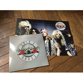Greatest hits LP & poster
