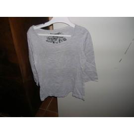 dfbe5e60e689e T-Shirt Manches Longues H m 10 12 Ans 100% Coton.