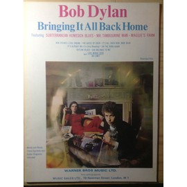 Bob Dylan Briinging It All Back Home