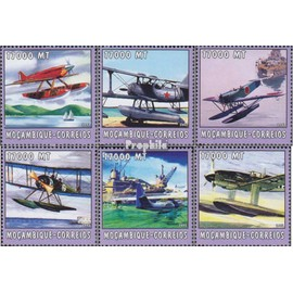 Mozambique 2572-2577 neuf avec gomme originale 2002 Monde de mer Aviation