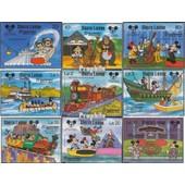 Neuf Avec Gomme Originale Sierra Leone Sierra-léonais Bloc 53 complète Edition