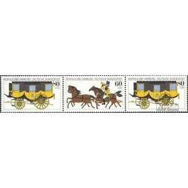 RFA (FR.Allemagne) wzd8 neuf avec gomme originale 1985 mophila chevaux