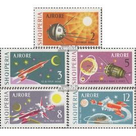 Albanie 779-783 (complète.Edition.) oblitéré 1963 Lunare + interplanétaire vols L¿espace