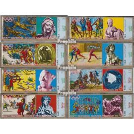 yémen du nord (arabes rep.) 1371-1378 (complète.Edition.) oblitéré 1970 Sports dans moyen age jeux olympiques
