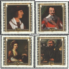 Liechtenstein 809-812 (complète.Edition.) neuf avec gomme originale 1982 Peintures peinture