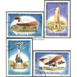 Roumanie 3897-3900 (complète.Edition.) oblitéré 1982 aurel vlaicu Aviation