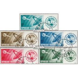 Togo 457A-461A (complète.Edition.) oblitéré 1965 100 Années uit L¿espace