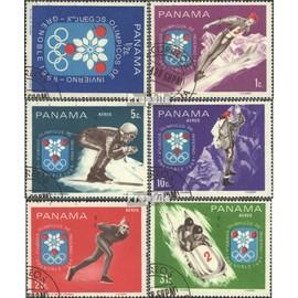 panama 1046-1051 (complète.Edition.) oblitéré 1968 olympe. Jeux d